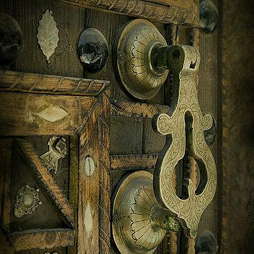 Картины и панно ручной работы. Ярмарка Мастеров - ручная работа Дверь I. 60х40  Бумага матовая. Печать. Handmade.