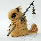 Куклы и игрушки handmade. Livemaster - original item Little Wanderer. Fantasy.. Handmade.