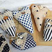 Aroma Sachet handmade. Livemaster - original item Hearts coffee, hearts, sachets, mint hearts. Handmade.