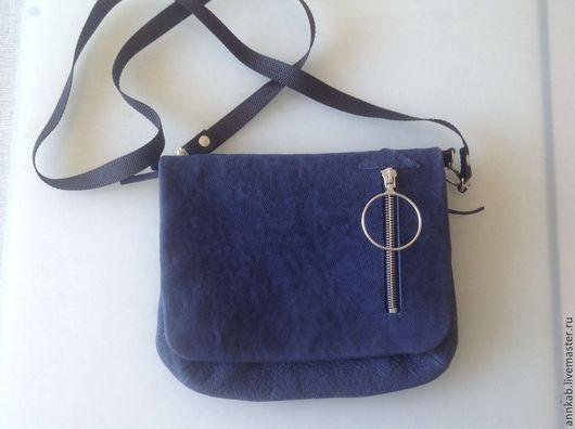 Женские сумки ручной работы. Ярмарка Мастеров - ручная работа. Купить Мягкая маленькая сумочка через плечо Kosette. Handmade.
