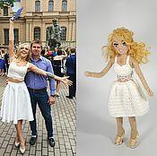 Куклы и игрушки ручной работы. Ярмарка Мастеров - ручная работа ПОРТРЕТНАЯ кукла по фото. Handmade.