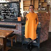 Одежда ручной работы. Ярмарка Мастеров - ручная работа Платье Cozy Jersey Curry. Handmade.