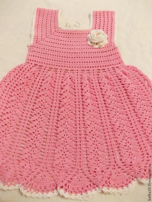 Одежда для девочек, ручной работы. Ярмарка Мастеров - ручная работа. Купить Платье Колоски. Handmade. Розовый, нарядное платье
