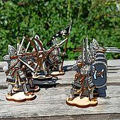Куклы и игрушки handmade. Livemaster - original item Play set: Mini Figures made of Wood: The Wars of Gondor. Handmade.