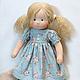 Вальдорфская игрушка ручной работы. Куколка для Ирины, 42 см. svetlana. Ярмарка Мастеров. Игровая кукла, кукла интерьерная, игрушка