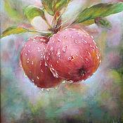 Картины и панно handmade. Livemaster - original item Apples. Handmade.