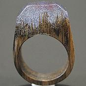 """Украшения ручной работы. Ярмарка Мастеров - ручная работа Деревянное кольцо """"Волшебная  принцесса 12"""", кольцо из дерева. Handmade."""