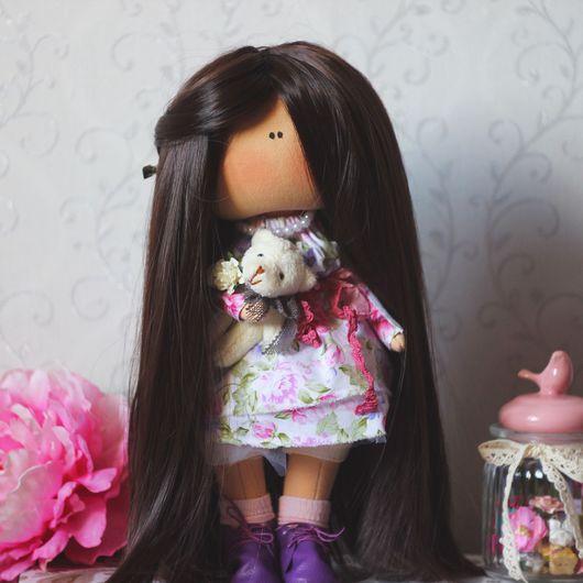 Коллекционные куклы ручной работы. Ярмарка Мастеров - ручная работа. Купить Интерьерная кукла. Handmade. Текстильная кукла