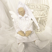 Куклы и игрушки ручной работы. Ярмарка Мастеров - ручная работа Белый ангел снов. Handmade.