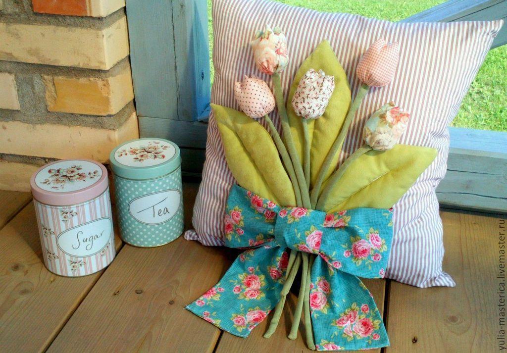 Подарки из текстиля для интерьера