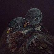 Картины и панно ручной работы. Ярмарка Мастеров - ручная работа Пташечки. Handmade.