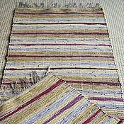 Для дома и интерьера ручной работы. Ярмарка Мастеров - ручная работа Половик ручного ткачества (№ 91). Handmade.
