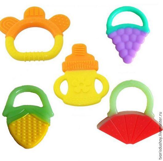 Развивающие игрушки ручной работы. Ярмарка Мастеров - ручная работа. Купить Заготовка для изготовления прорезывателей. Handmade. Разноцветный, грызунок