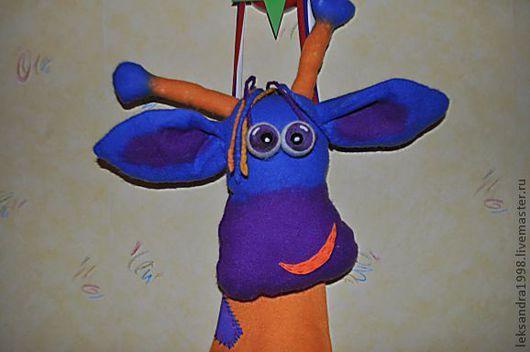 Детская ручной работы. Ярмарка Мастеров - ручная работа. Купить Жирафа - пижамница Эльза. Handmade. Абстрактный, подарок ребенку