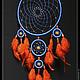 Ловцы снов ручной работы. Ловец Снов. Татьяна Бакаева (store-miracles). Интернет-магазин Ярмарка Мастеров. Рыжий, оберег