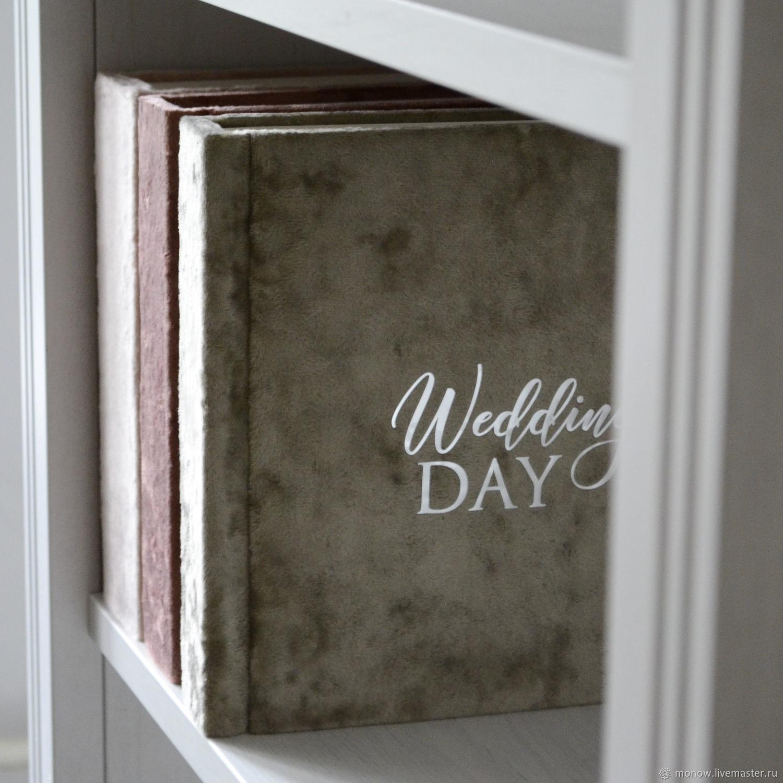 Свадебный фотоальбом Wedding day, Фотоальбом свадебный, Москва,  Фото №1