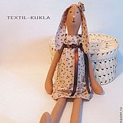 Куклы и игрушки ручной работы. Ярмарка Мастеров - ручная работа Зайка (60см) - текстильная игрушка. Handmade.