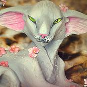 Куклы и игрушки handmade. Livemaster - original item Modes, drop rainy garden of eve. Handmade.