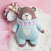 """Куклы и игрушки ручной работы. Ярмарка Мастеров - ручная работа Медведь """"Зефирчик"""". Handmade."""