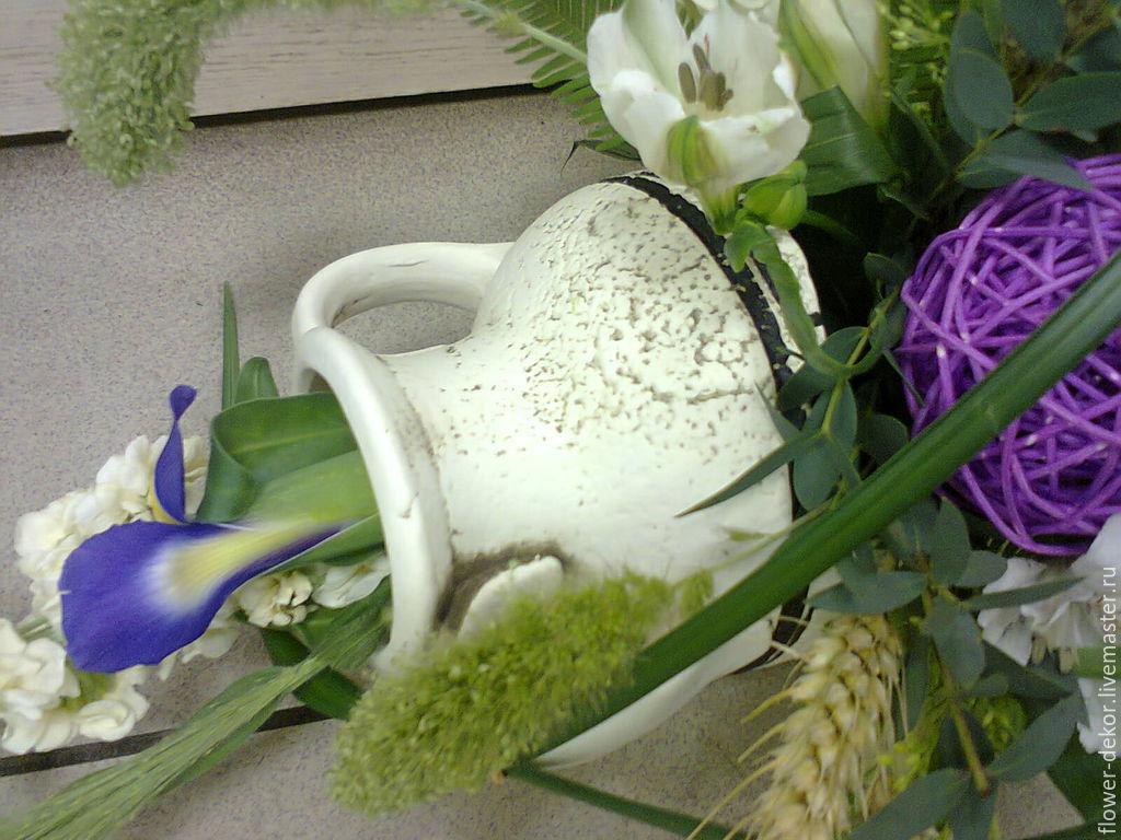 Амфора цветы