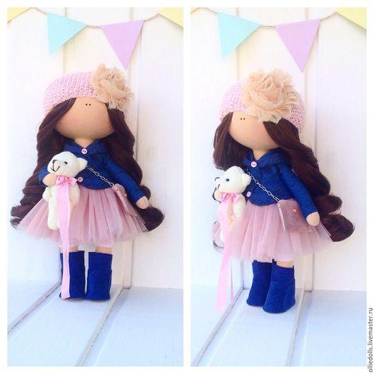 Куклы тыквоголовки ручной работы. Ярмарка Мастеров - ручная работа. Купить Кукла ручной работы. Handmade. Игрушка ручной работы