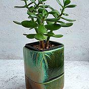 Цветы и флористика handmade. Livemaster - original item pots: Planters