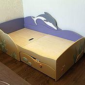 """Для дома и интерьера ручной работы. Ярмарка Мастеров - ручная работа Кровать """"Морская"""". Handmade."""