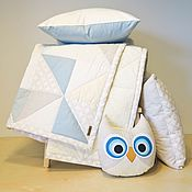 Для дома и интерьера ручной работы. Ярмарка Мастеров - ручная работа Детский комплект. Handmade.