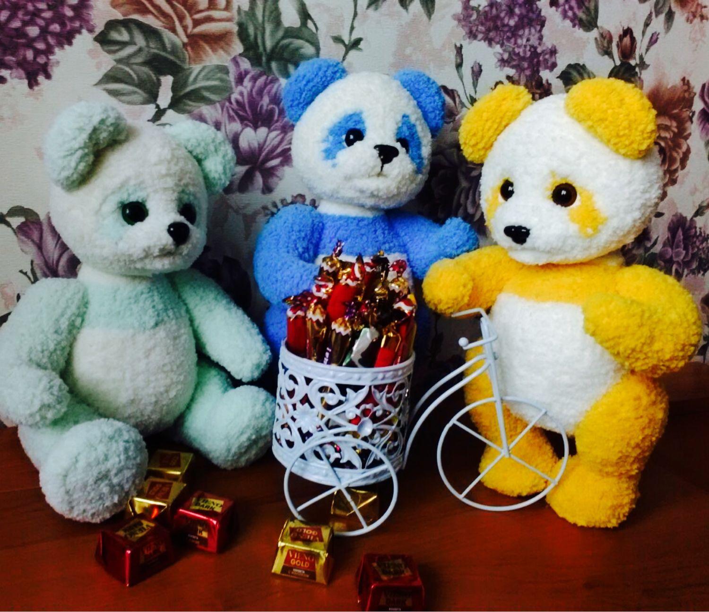 Панда, Мягкие игрушки, Старый Оскол,  Фото №1