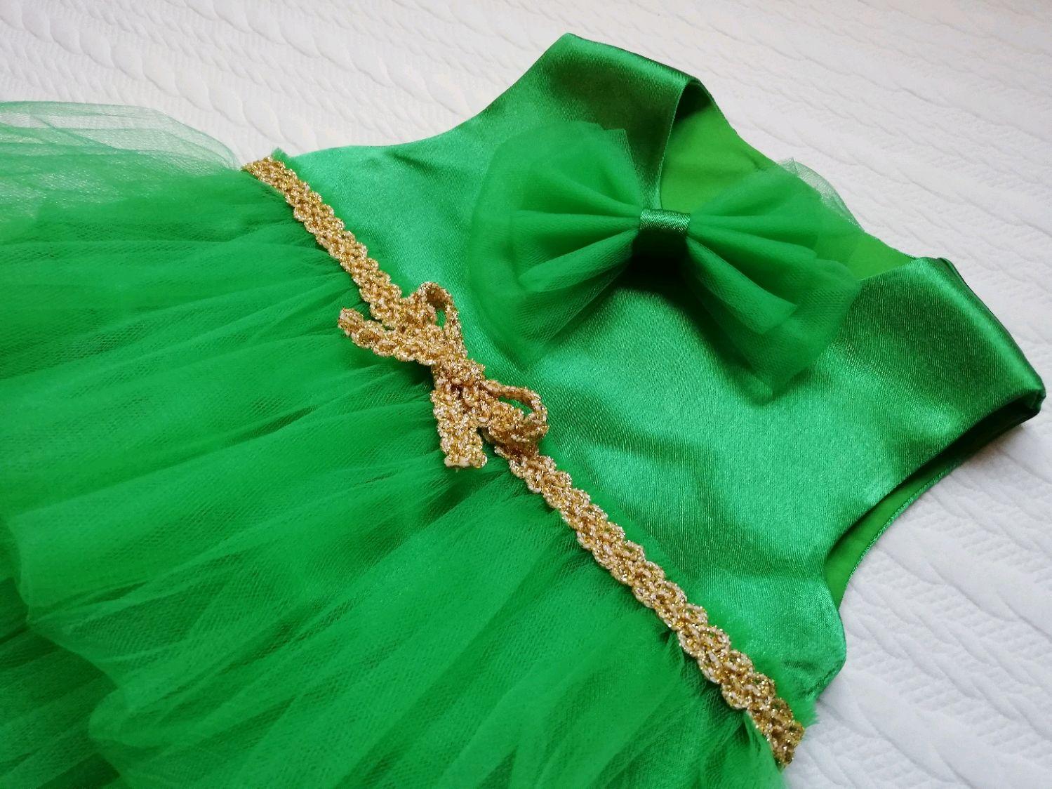 Новогоднее платье ёлочки