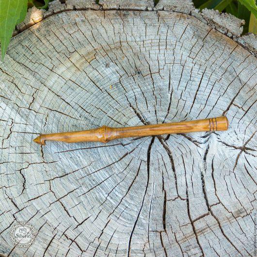 Другие виды рукоделия ручной работы. Ярмарка Мастеров - ручная работа. Купить Крючок для вязания 9 mm Натуральное дерево Вишня #K14. Handmade.