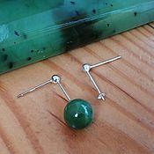 Материалы для творчества handmade. Livemaster - original item Base for earrings, 925 sterling silver Art. OS925104. Handmade.