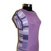 """Одежда ручной работы. Ярмарка Мастеров - ручная работа Пуловер """"Сиреневый бульвар"""". Handmade."""