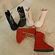 Одежда для кукол ручной работы. Обувь для кукол, БЖД и мишек тедди. Сапоги на шнуровке. Кожа .. Юлия П. (куклы, мишки, обувь). Ярмарка Мастеров.