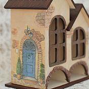 Для дома и интерьера ручной работы. Ярмарка Мастеров - ручная работа Чайный домик двойной Итальянский таунхаус. Handmade.