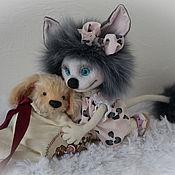 Куклы и игрушки ручной работы. Ярмарка Мастеров - ручная работа Лёка и Бублик.. Handmade.