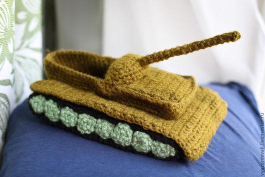 Обувь ручной работы. Ярмарка Мастеров - ручная работа. Купить Тапки-танки. Handmade. Тапки, world of tanks