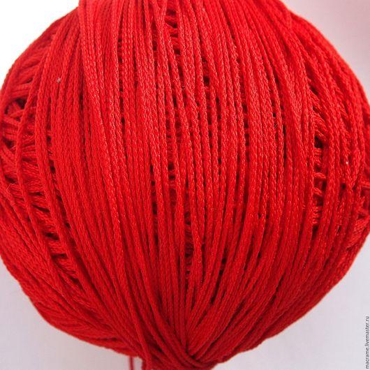 Для украшений ручной работы. Ярмарка Мастеров - ручная работа. Купить Шнур 1,5 мм красный полиэфирный. Handmade.
