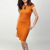 Одежда ручной работы. Ярмарка Мастеров - ручная работа Платье вязаное 7521. Handmade.