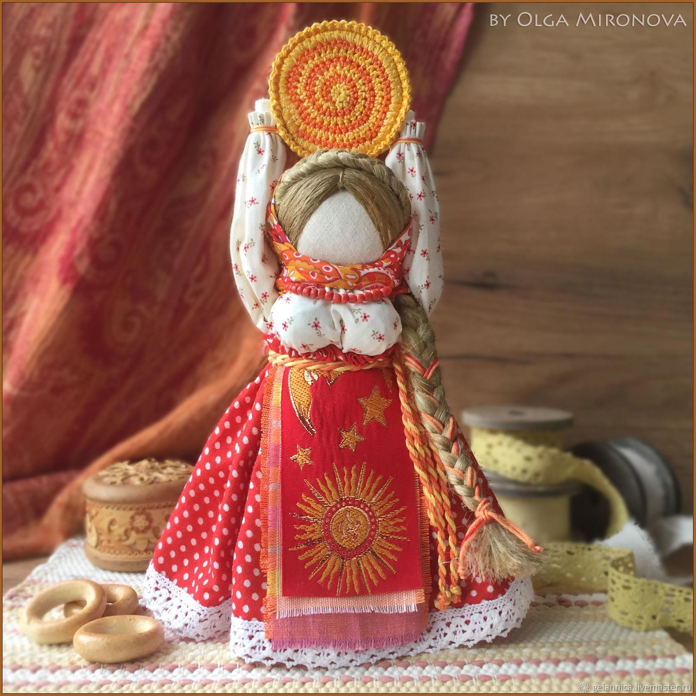 Масленица-Ясочка, Народная кукла, Санкт-Петербург,  Фото №1