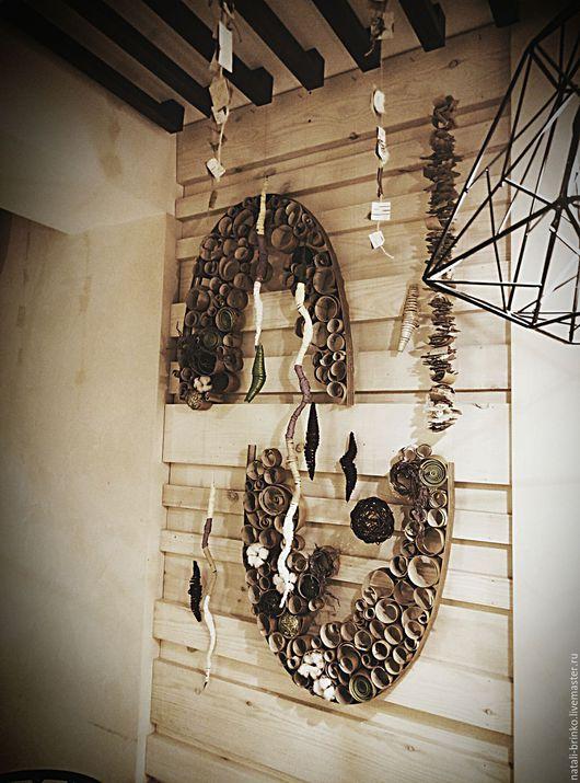 Декор поверхностей ручной работы. Ярмарка Мастеров - ручная работа. Купить Оформление декор  стен Дуновение Весны  оттепель. Handmade.