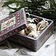 Новый год 2017 ручной работы. Ярмарка Мастеров - ручная работа. Купить Merry Christmas. Handmade. Новогодний подарок, коробка с игрушками