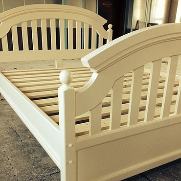 Для дома и интерьера ручной работы. Ярмарка Мастеров - ручная работа 3. Кровать в деревенском стиле. Handmade.