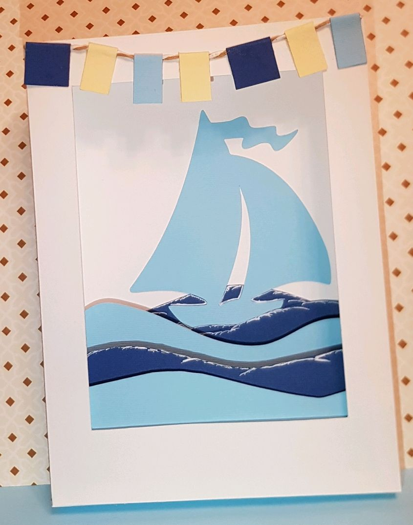 Юбилею прикольные, открытки с корабликами