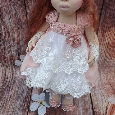 Куклы и игрушки ручной работы. Ярмарка Мастеров - ручная работа Куклы: Интерьерная кукла Виолетта. Handmade.