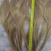 Волосы для кукол ручной работы. Ярмарка Мастеров - ручная работа Трессы для кукол,длина 45-46 см. Handmade.