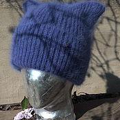 Аксессуары ручной работы. Ярмарка Мастеров - ручная работа шапочка из ангоры. Handmade.