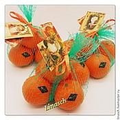 Косметика ручной работы. Ярмарка Мастеров - ручная работа Сетка мандарин. Handmade.