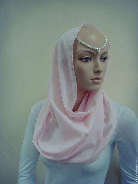"""Этническая одежда ручной работы. Ярмарка Мастеров - ручная работа. Купить Хомут-тикка  """"восточная сказка"""" нежно розовый. Handmade."""