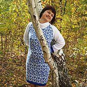 """Одежда ручной работы. Ярмарка Мастеров - ручная работа Платье """"Снегурочка"""". Handmade."""